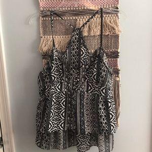 American Eagle Aztec print cami.